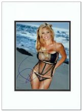 Pamela Anderson Autograph Signed Photo